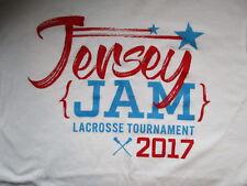 Jersey Jam Lacrosse Tournament 2017 Tshirt New Gildam Medium