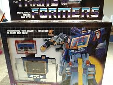 Transformers G1 Soundwave New And Sealed Remake Reissue KO UK
