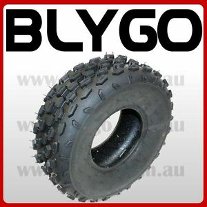 """4PLY 19 X 7.00 - 8 8"""" Inch Front Knobby Tyre Tire 125cc Quad Dirt Bike ATV Buggy"""