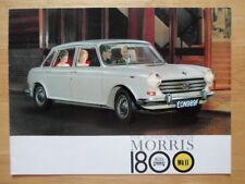 MORRIS 1800 Mk II orig 1968 UK Market sales brochure - Landcrab 2513