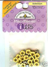"""""""Buttercream"""" Mini-Flower I-lets - Doodlebug"""
