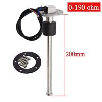200mm Boat Marine Tank Level Sender Car Truck Water Fuel Gauge Sensor 0-190 ohms
