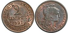 2 CENTIMES 1902 F110 SUP!!!