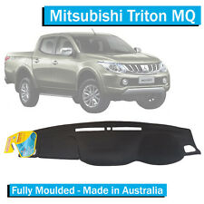 Mitsubishi Triton MQ (2015-Current) Dash Mat -Charcoal- Moulded -GLS GLX Exceed