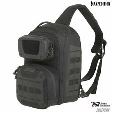 Maxpedition AGR Edgepeak Ambidextrous Sling Pack 15L EDPBLK, Black, New w/Tag