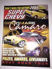 Super Chevy Magazine Goodmark Camaro 2004 Road Tour Project X 030717NONRH