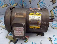 BALDOR VM3546T 1 HP FR 143TC 460 V 3.6 A 1725 RPM 60 HZ 3 PH  MOTOR