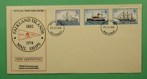 DR WHO 1978 FALKLAND ISLANDS FDC MAIL SHIPS  C241988
