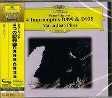 MARIA JOAO PIRES (PIANO)-SCHUBERT: IMPROMPTUS D899 & D 935 -JAPAN SHM-CD D46