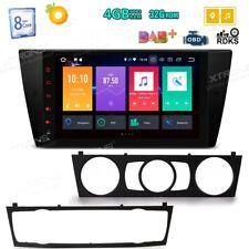 """9"""" HD Car GPS NAV Radio Android 8.0 Octa Core 4GB+32GB DAB+ OBD2 For BMW E90 E91"""