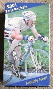 2001 Paris - Roubaix World Cycling Productions 2 VHS Servais Knaven Very Clean