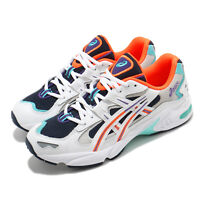 Asics Gel-Kayano 5 OG White Navy Orange Men Casual Sportstyle Shoes 1021A163-400