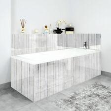 Bath Panels Printed on Acrylic - White Wash Wood