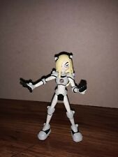 "Teen Titans Go Terra Slade in white variant 3.5"" Action Figure Dc Bandai 2005"