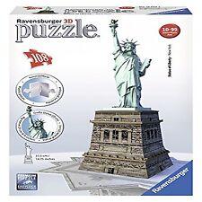 Ravensburger 12584 Puzzle 3D Statue La Liberté 108 Pièces Jouets et jeux Puzzles