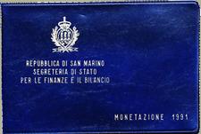 Divisionale Lira San Marino 1991 - 16 SECOLI. DI STORIA - 10 Valori