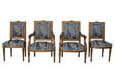 Salon de style Louis XVI bois doré de style Louis XVI