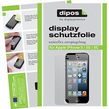 2x Apple iPhone 5C Schutzfolie matt Displayschutzfolie Folie dipos Displayfolie