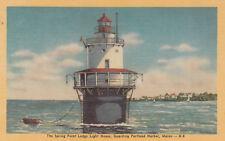 PORTLAND , Maine , 1930-40s ; Point Ledge Lighthouse