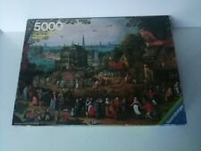 Ravensburger Puzzle 5000 piece Country Fair / Die Bauernkirmes * 1979 * COMPLETE