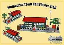 Custom instruction, consisting of LEGO elements-Melbourne Town Hall Flower Stall