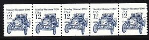 US 2132 MNH 1985 12¢ Stanley Steamer 1909 PNC Plate #1
