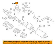 NISSAN OEM Exhaust-Catalytic Cnvrtr Gasket 20691JA10B