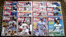 NEW ! 1990 '91 '92 '93 TOPPS MAGAZINES #1--#16 / NM-MT CARD PANELS>ONE OWNER !