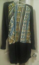 Thakoon Addition Women Green Yellow Blue Black White Silk Mini Dress Size M