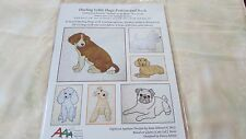 Darling Little Dogs PATTERN & BOOK Applique designs IN THE HOOP NIP