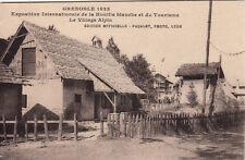 GRENOBLE expo internationale houille blanche et tourisme village alpin paçalet