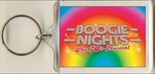 Boogie Nights. The Musical. Keyring / Bag Tag.