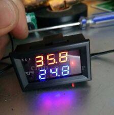 Temperature Sensor DC 12V Microcomputer Thermostat Controller Switch Digital LED