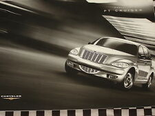 brochure + NUANCIER CHRYSLER PT CRUISER 2003  / ENGLISH  COULEURS