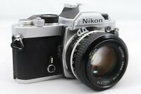 【EXC!】Nikon FM 35mm SLR camera #958 with Nikkor f/1.4 50mm Ai lens From Japan
