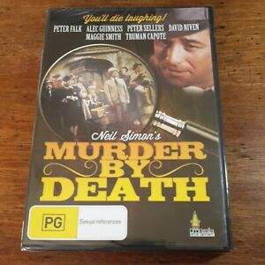 Murder by Death Neil Simon DVD R4 Brand New Sealed FREE POST