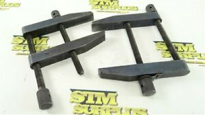 """PAIR OF BROWN & SHARPE PARALLEL CLAMPS 754-F-3-1/2"""""""