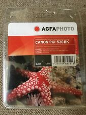 Agfa PGI-520 BK ink For Canon Pixma