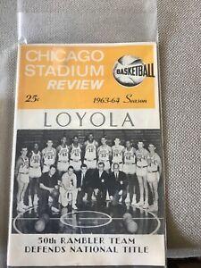 Loyola Ramblers basketball 1963 -4 Review