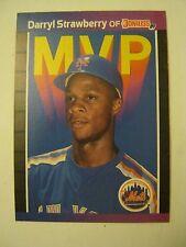 1989 Donruss #BC-6 Darryl Strawberry MVP Baseball Card (EB1-35)