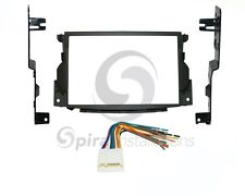 Radio Stereo Mounting Installation Dash Kit Combo Double Din + Wire Harness AC37