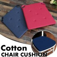 AUGIENB Chair Cushion Seat Pads Outdoor Tie Pad Garden Patio Removable Cover