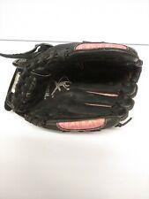 "Mizuno Baseball Softball Glove Mitt Pink Black Leather 11"" Finch RHT"