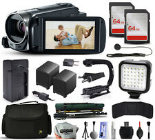 Canon 8GB VIXIA HF R50 HFR50 Camcorder + 128GB + Stabilizer + Case + LED + More