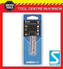 "SUTTON #30 DOUBLE ENDED TUPOINT DRILL BIT FOR 1/8"" RIVETS – 10 PACK / 20 TIPS"