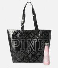 Victoria's Secret PINK Stainless Steel Water bottle Girls Rule & Reusable Tote