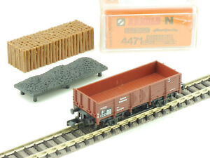 Arnold 4471 High-Sided With Charge Wood Coal N Gauge Top Boxed 1604-13-11