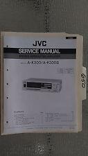 JVC a-k300 b service manual original repair book stereo amp amplifier