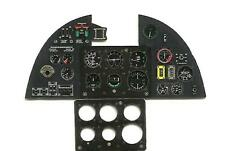 HURRICANE MK.I PHOTOETCHED, 3D, COLORED INSTRUMENT PANEL TO FLY#3212 1/32 YAHU