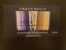 NEW Urban Decay Eyeshadow Primer Potion Shadow Base Original + Sin 2 x .75 ml